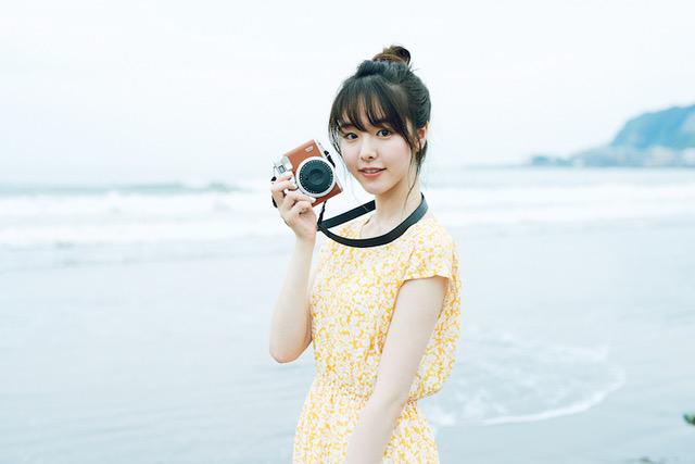 福田麻由子さんの水着